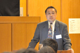 BASセミナー2009 第1回 「電気化学反応を利用した次世代画像表示技術」 千葉大学大学院 融合科学研究科 教授 小林 範久 先生