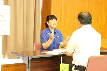 BAS電気化学セミナー 渡辺訓行先生などによる個別相談コーナー