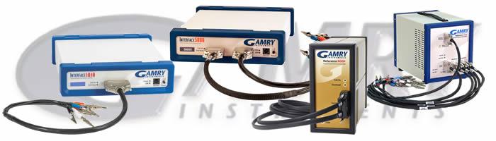 GAMRY社装置ラインナップ
