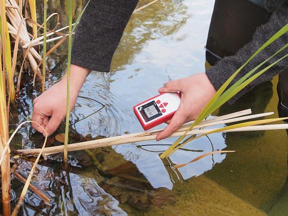 河川中の溶存酸素の測定