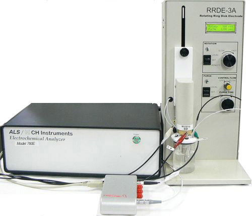 酸素還元電流測定のシステム